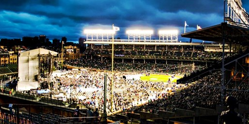 James Taylor & Jackson Browne: All-Inclusive Wrigley Rooftop