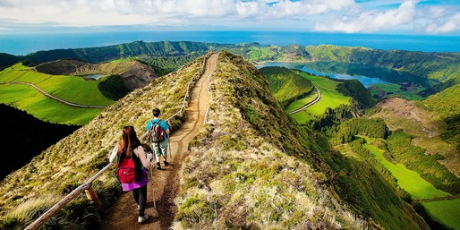 $999 -- Summer 5-Star Azores Vacation w/Air, $1000 Off