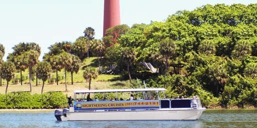 $29 -- Jupiter Island: Top-Rated Boat Cruise for 2, Reg. $60