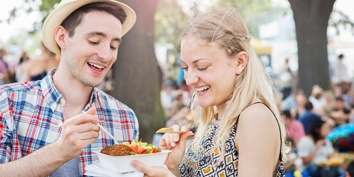 £9 -- Summer Food Festival: Entry for 2, 50% Off