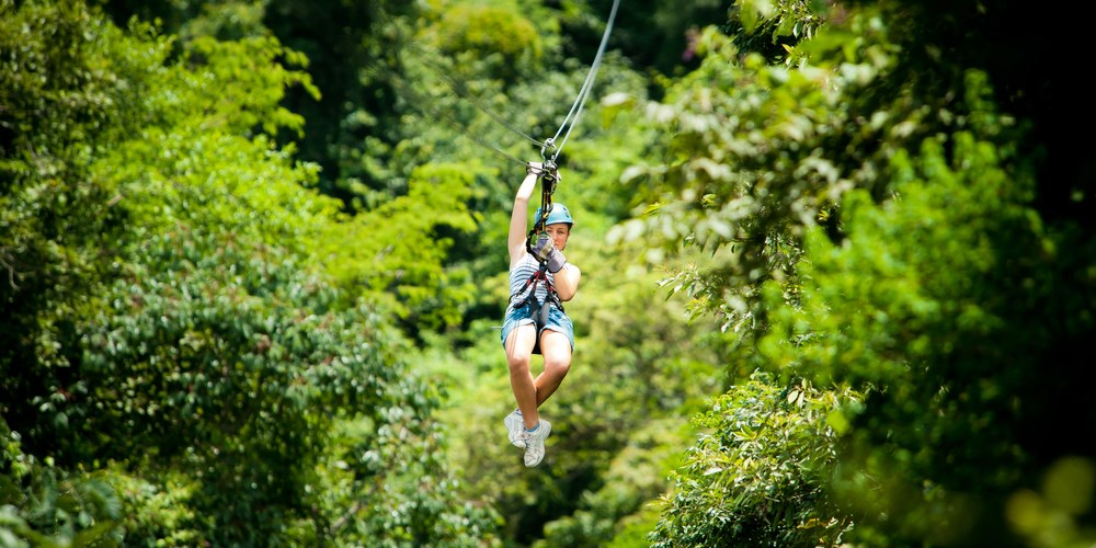 Soar Over the Pocono Mountains on a Zip Line for 50% Off
