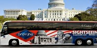 $19 -- D.C. Memorials Bus Tour w/Stops at 7 Landmarks