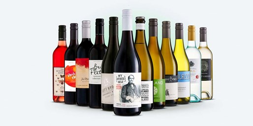 $59-$68 -- 12 Bottles of Wine including Delivery, Worth $216