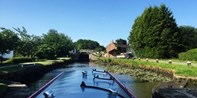 £120 -- Full-Day Canal Barge Hire in Lancashire, Reg £240