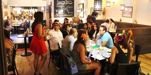 $59-$69 -- 'Fantastic' Paella Dinner for 2 w/Flamenco Show