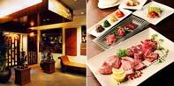 ¥3,980 -- 独占55%OFF 青山・焼肉最上級コース全14品 特選和牛6種+ホルモン3種+海鮮2種ほか 飲料特典
