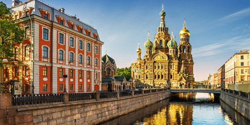 £209pp -- Moscow & St Petersburg Break w/Flights & Tour