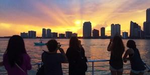 $33 -- Miami Sunset Cruise w/Champagne Toast, Reg. $66