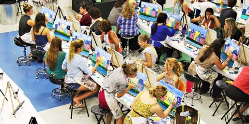 $25 -- Uptown Art Boca: 2-Hour Painting for 2, Reg. $50