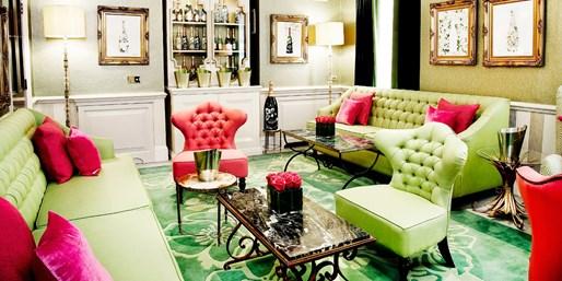 ¥218 -- 6.2折 经典英伦风 伦敦著名五星级Dukes酒店下午茶+气泡酒