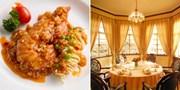 ¥298 -- 洋房花园的上海味道 名轩餐厅双人包房午餐