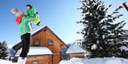 ab 303 € -- Turracher Höhe: Ski-Hütte 4 Tage & Pistenbutler