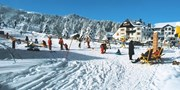 ab 484 € -- Turracher Höhe: Skiauszeit mit Skipass & Menüs