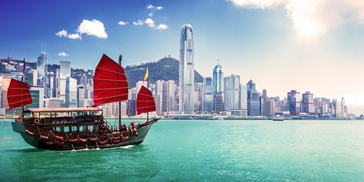 $655 -- Hong Kong: Return Full-Service Flights from 4 Cities