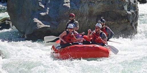 $39 -- Thrilling White-Water Rafting thru Summer, 55% Off