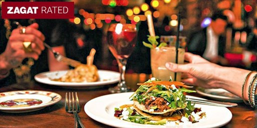 $25 -- Long Beach: 50% Off Zagat-Rated Latin Dinner w/Drinks