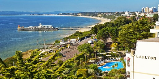 £99 -- Bournemouth Hotel Stay inc Meals, Was £205