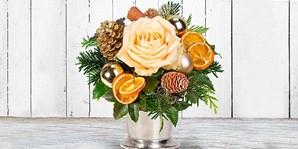 Adventsgrüße & Blumen zu Weihnachten versenden, 8 € sparen