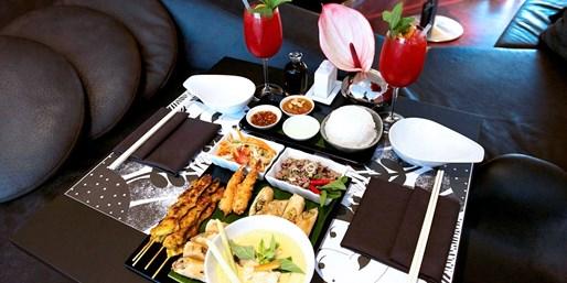29 € -- Ku'damm: Champagner und Thai-Fingerfood für 2, -43%