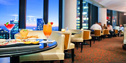 $45 -- Revolving BonaVista Lounge: 34th-Floor Drinks & Apps