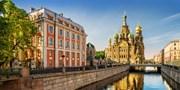 Dsd 985€ -- Semana Santa en Moscú y S. Petersburgo, -50%