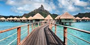 $3995 -- Luxe Bora Bora Overwater Bungalow Vacation w/Air
