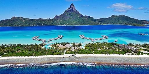 $6295 -- Luxe 5-Star Moorea, Bora Bora & Taha'a Trip w/Air