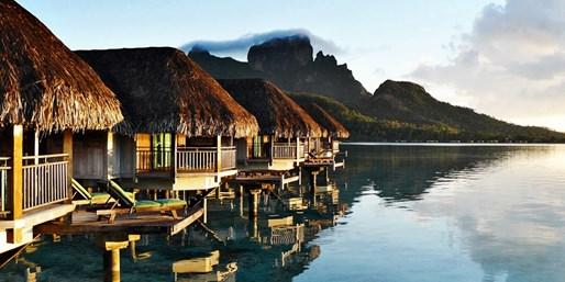 $3975 -- Bora Bora Overwater Bungalow Vacation w/Air