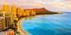 ¥188,000 -- ハワイ州公認フェス開催6月発が得 ビジネス直行ホノルル6日間