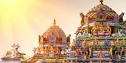 ¥125,000 -- 南インド4都市周遊8日間 世界遺産観光+ハウスボート貸切 16食付