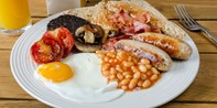 £25 -- Central Manchester Champagne Breakfast for 2, 50% Off