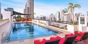 48 € -- Zentrales Hotel in Bangkok mit Dach-Pool & Upgrade