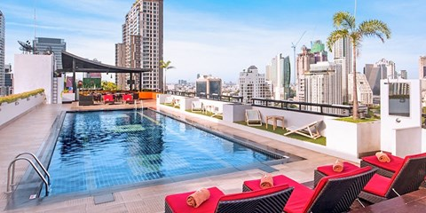 $51 -- Bangkok Hotel w/Rooftop Pool Stay inc Upgrade