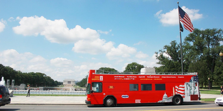 $19 -- D.C. Monuments Bus Tour incl. White House, Reg. $39
