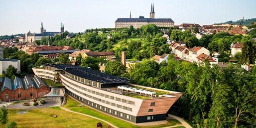 84 € -- 3 Tage im Unesco-Weltkulturerbe Bamberg & Menü, -37%