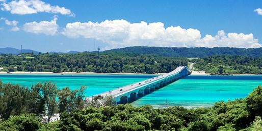 ¥4,400 -- 沖縄三昧ガイド付バスツアー独占20%OFF 美ら海水族館150分&絶景名所 ディナー付も特別価格