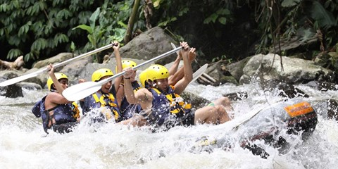 $55 & up -- Bali: Mountain Cycling, Rafting Tours inc Lunch