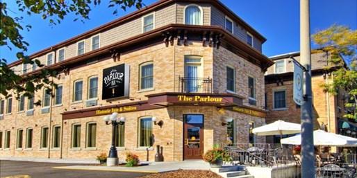 $139 -- Historic Stratford Hotel w/Bottle of Wine, Reg. $229