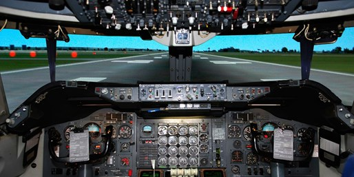 £99 -- Boeing 737 Flight Simulator Experience, 43% Off