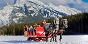 $39 -- Banff: Horse-Drawn Sleigh Ride for 2, Reg. $64