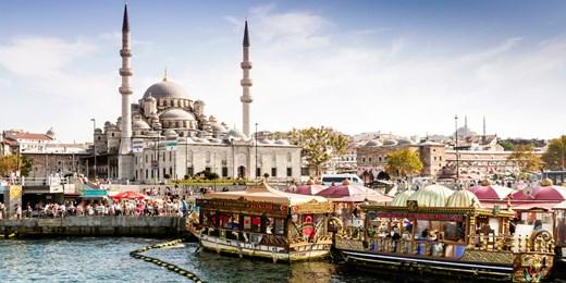 £235pp -- 5-Star Istanbul Tour w/Bazaars & Bosphorus Cruise