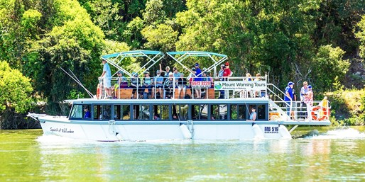 $59 -- Tweed River Cruise w/Seafood & Drink, Half Price