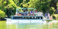 ¥310 -- 5折 昆士兰Tweed River单人2小时雨林游船观光 含海鲜午餐+葡萄酒