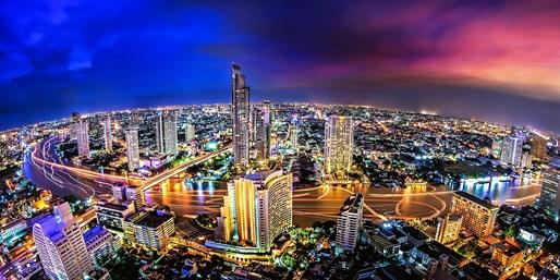 ¥2,900 -- 44%OFF バンコク 好立地4つ星ホテル 客室UP&レイトチェックアウトほか特典多