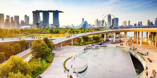 999 € -- Südostasien-Kreuzfahrt ab Singapur mit Flug, -380 €