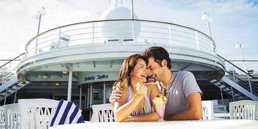 ¥999起 -- 第二人半价!十一/周末献礼邮轮优惠 双人浪漫/亲子合家欢海上假期