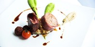 $59 -- 'World Class' 2-Course Dining for 2 w/Wine, 50% Off