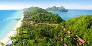 ¥2,828 -- 4.1折 皮皮岛排名第一度假村3晚 含早+接送机+按摩+鸡尾酒+折扣等
