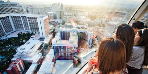 $35 -- 2 Tickets: Las Vegas Observation Wheel w/Open Bar