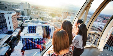 $45 -- Vegas: 2 Observation Wheel Tickets & Open Bar
